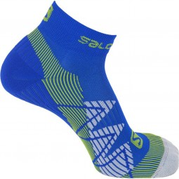 Salomon Speedcross Unisex Trailrunning Socken union blue/gecko green