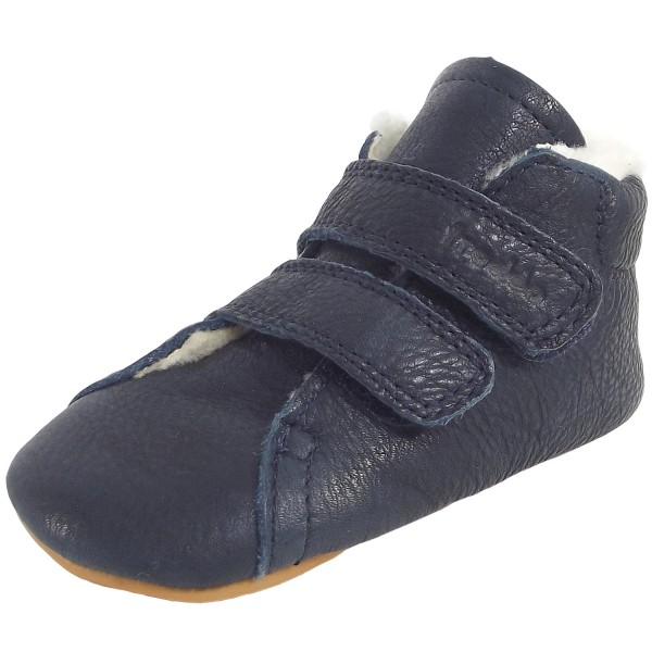 Froddo Prewalkers Winter Baby Lammfellschuhe dunkelblau (dark blue)