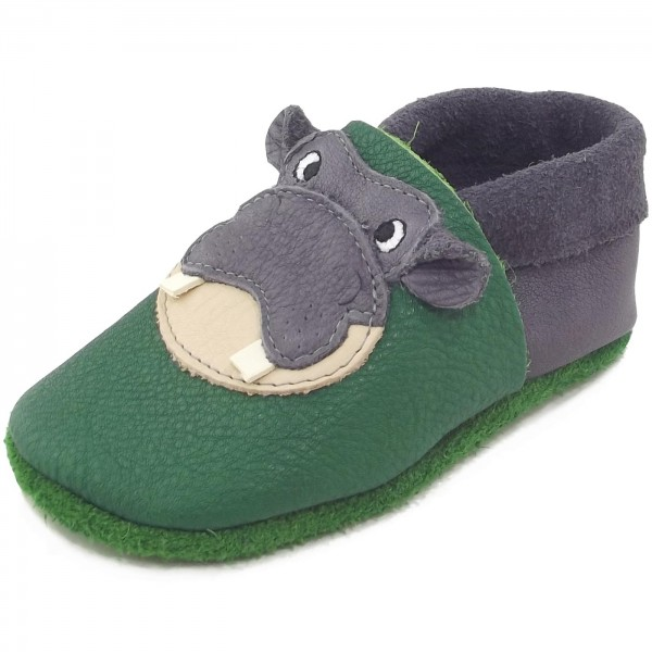 Pololo Hippo Kleinkinder Krabbelschuhe gr