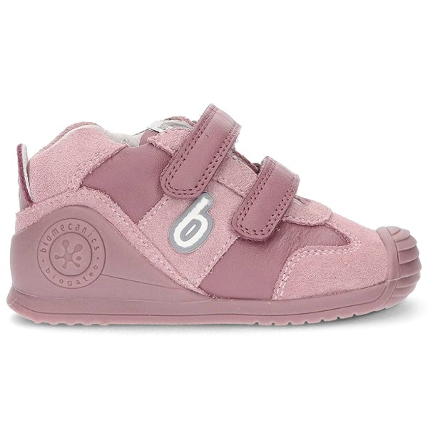 Biomecanics Biogateo Marlon Kleinkinder Leder Sneaker Rosa (Malva)
