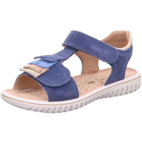 Superfit Sparkle Mädchen Sandale Blau