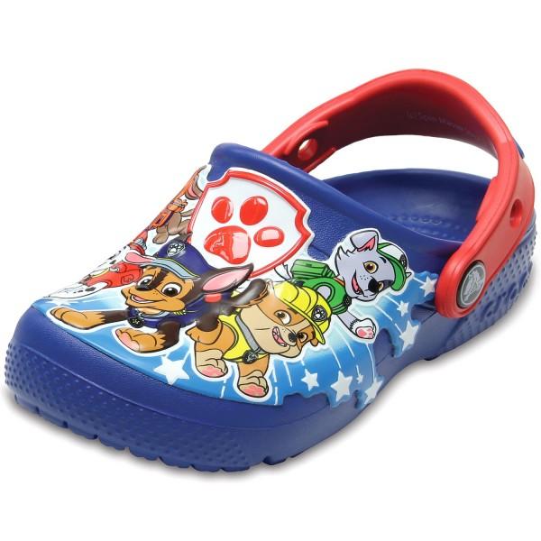 baaa2febc Crocs Crocs Fun Lab Paw Patrol Jungen Clogs blau (blue jean)