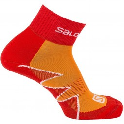 Salomon Citytrail Unisex Nachtlauf Socken infrared/capucine orange