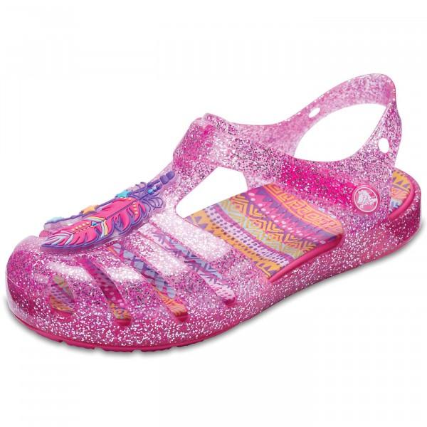 0eb52d38cfa40 Crocs Isabella Novelty Girl Sandal vibrant pink