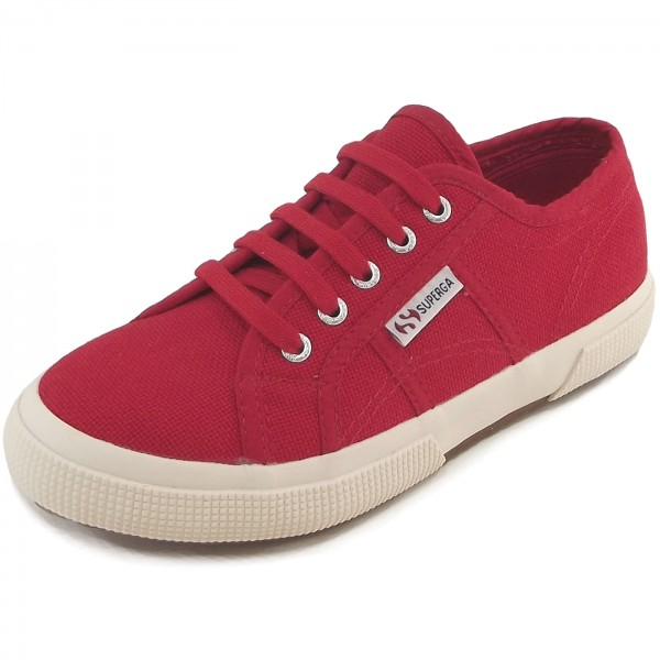 Superga 2750 Junior Cotu Classic Kinder Sneaker rot (red)