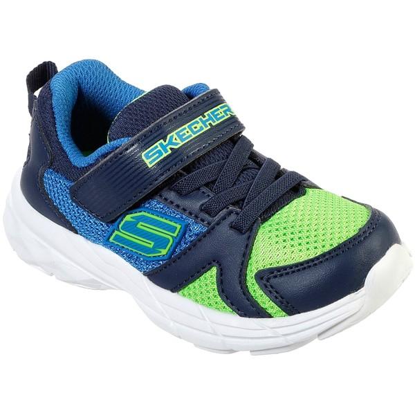 sports shoes e3f3f 774ed Skechers Eclipsor Interpulse Kleinkinder Trainingsschuhe blau/grün  (blue/lime)