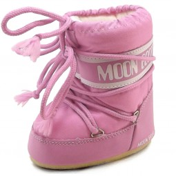 Moon Boot by Tecnica Mini Nylon Kleinkinder Moonboots rosa (pink)