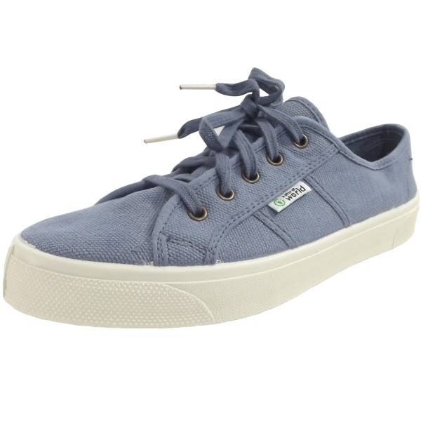 Natural World Old Blossom Unisex Bio-Sneaker blau (lavanda)