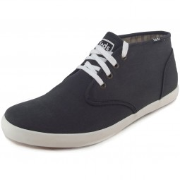 Keds Champion Chukka Canvas Herren Sneaker anthracite-black