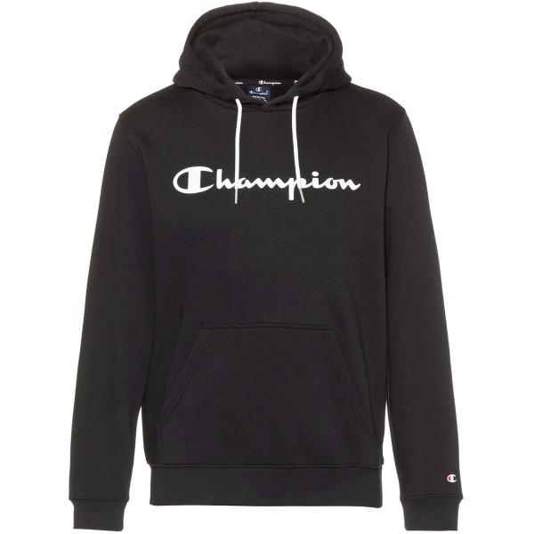 Champion Hooded Sweatshirt Mn Herren Kapuzenpullover Schwarz (NBK)