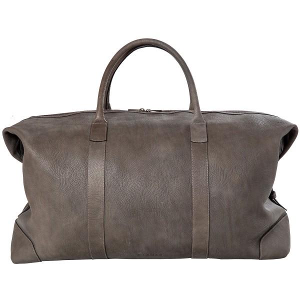 Ellamar Travelbag Unisex Reisetasche grey/leather