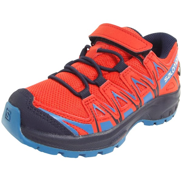 cheap for discount 7482e eb98c Salomon XA Pro 3D CSWP K Child Running Shoes cherry tomato/navy  blazer/fjord blue