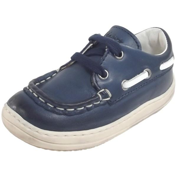 Naturino Maddy Kleinkinder Schnürschuhe dunkelblau/weiß (navy/bianco)