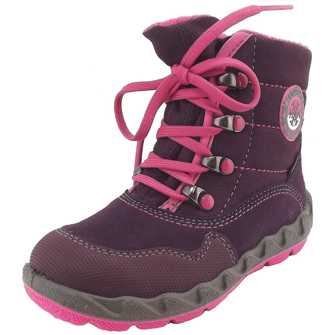 pretty nice 61aa9 7f553 Superfit Gore-Tex Icebird Girl Winter Boots violet (eggplant/kombi)