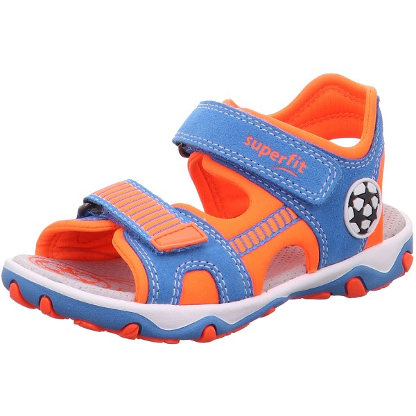Superfit Mike 3.0 Jungen Sandale blau/orange