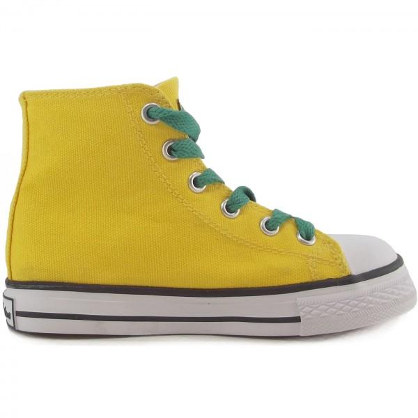 Naturino 2540 Canvas Sneaker gelb (giallo) 2