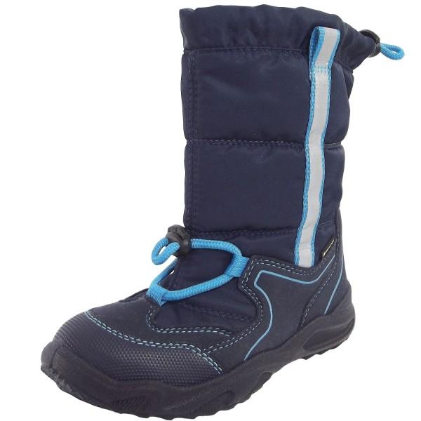 Superfit Gore-Tex Glacier Kleinkinder Winterstiefel blau/blau
