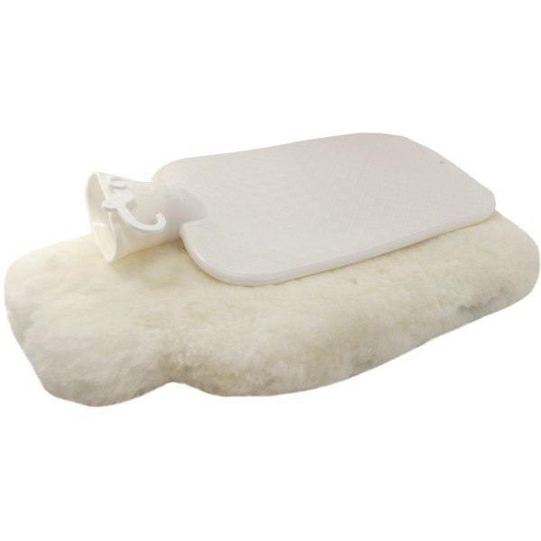 Fellhof Sheepskin Hot-Water Bag beige, large