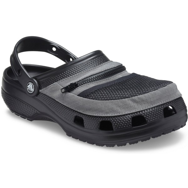 Crocs Classic Venture Pack Herren Clogs Black/Slate Grey