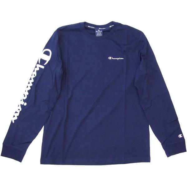 Champion Long Sleeve T-Shirt Mn Herren Langarm-Shirt navy (nny)