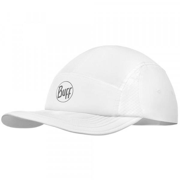 Buff Run Cap Unisex Laufkappe weiß (reflektierend/solid white)