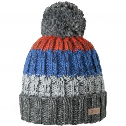 Barts Wilhelm Beanie Men Winter Hat dark heather