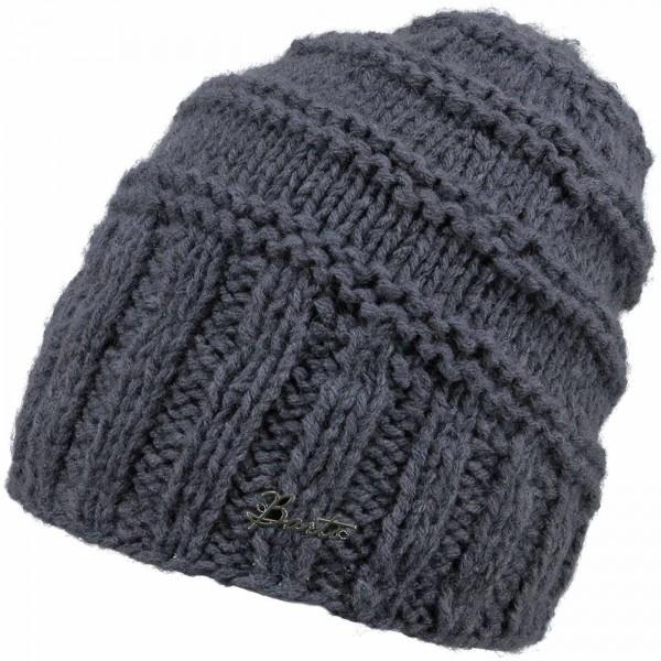 Barts Tamara Beanie Damen Wintermütze graublau (dark heather)