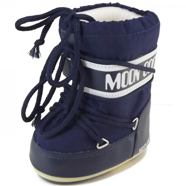 Moon Boot by Tecnica Mini Nylon Kleinkinder Moonboots blau