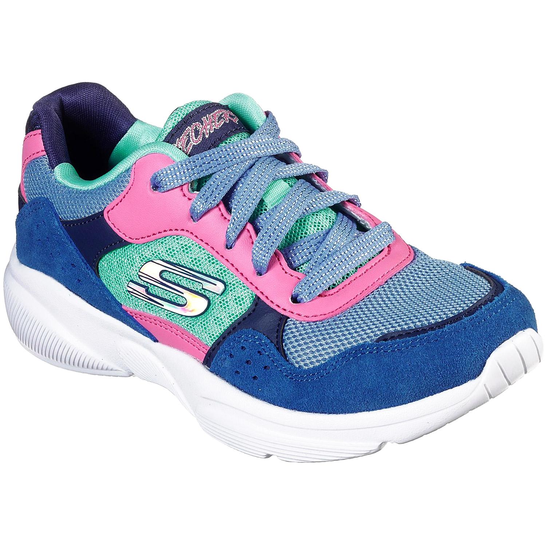 Skechers Meridian Charted Gril Dad Sneaker bluemulti