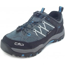 CMP Kids Rigel Low Kinder Trekkingschuhe grau/schwarz/blau