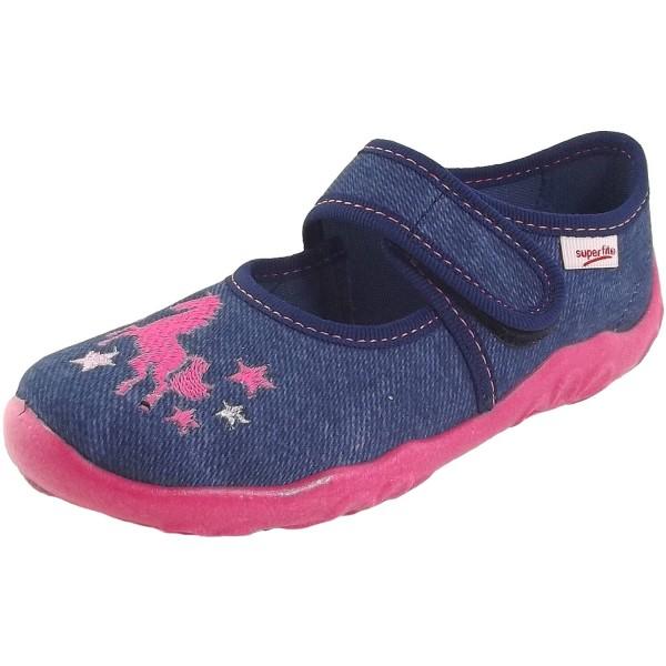 low priced 50f75 b7b35 Superfit Bonny Girl Slippers blue (blau)