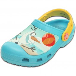 Crocs Frozen Olaf Kinder Clogs electric blue