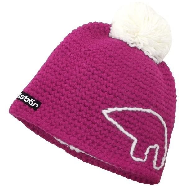 26507c35 Eisbär Jay Pompon Women Winter Hat fuchsia/white | Caps ...