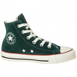 Converse All Star Shearling Hi Junior ponderosa dunkelgrün