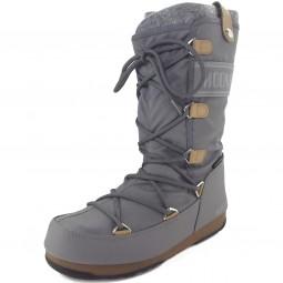 Moon Boot W.E. Monaco Felt Damen Winterstiefel grau (grigio)