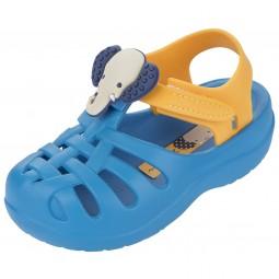 Ipanema Summer Baby Kleinkinder Badesandale blau/gelb (blue/yellow)