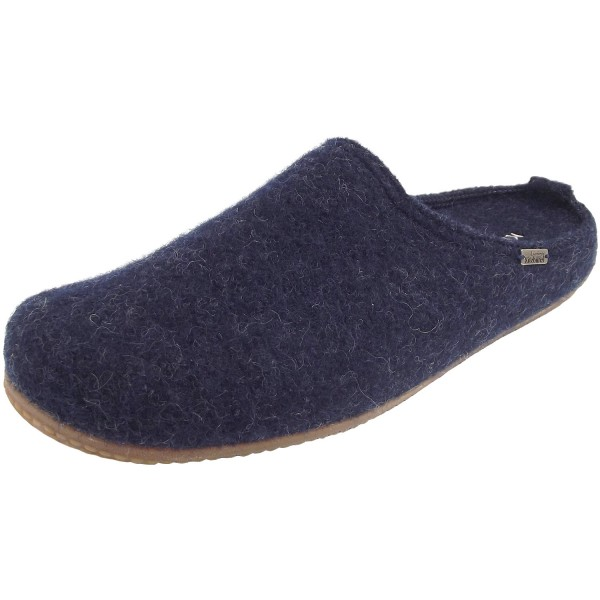 wholesale dealer 9ba8e a5787 Living Kitzbühel 3482 Fussbett Unisex Slipper Clogs dark blue (nachtblau)
