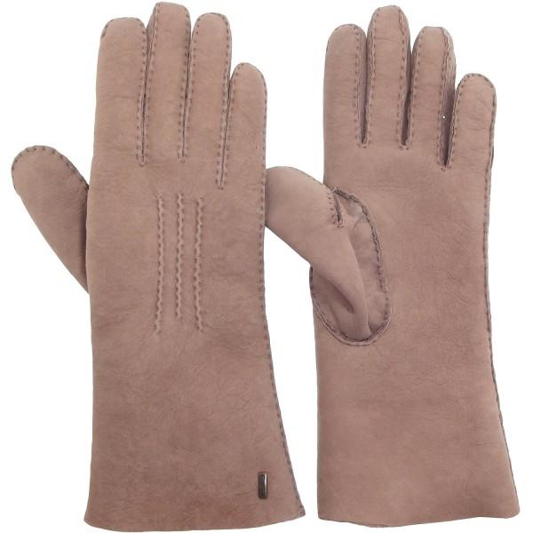 bis zu 60% sparen zum halben Preis Online kaufen Eska Cara Damen Lammfell-Handschuhe altrosa