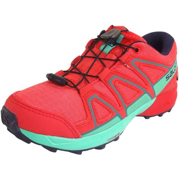 design de qualité edbf8 3613e Salomon Speedcross CSWP J Girl Trail Running Shoes dubarry/hibiscus/atlantis