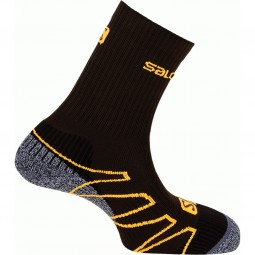 Salomon Eskape Unisex Outdoor Socken swamp/dark titanium/fall orange