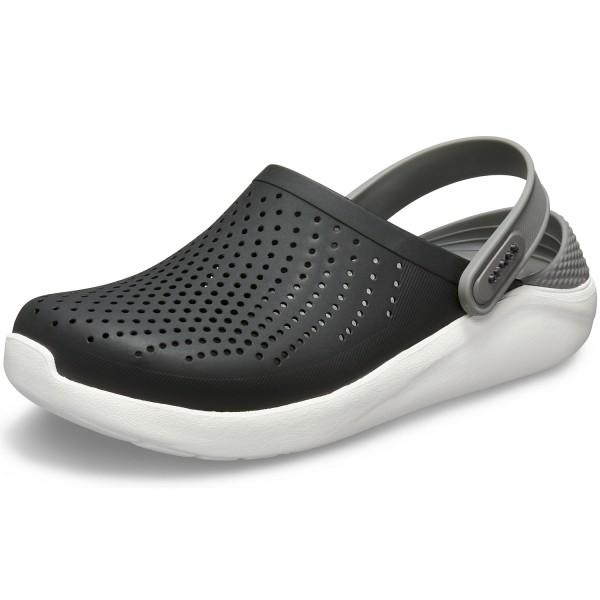 Crocs Literide Unisex Soft Clogs schwarz/grau (black/smoke)