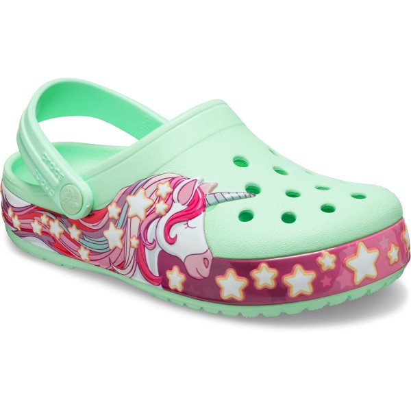 Crocs Fun Lab Unicorn Band Mädchen Clogs mintgrün (neo mint)