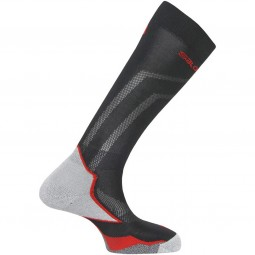 Salomon X Max Unisex Ski-Racingsocken black/racing red