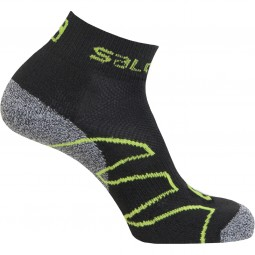 Salomon Cross Over Unisex Outdoor Socken black/swamp/organic green