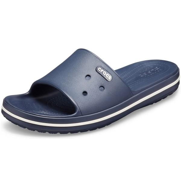 Crocs Crocband III Slide Unisex Pantolette dunkelblau (navy/white)