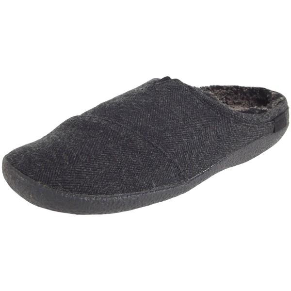 Toms Berkeley Herren Pantoffeln schwarz-meliert (black herringbone)