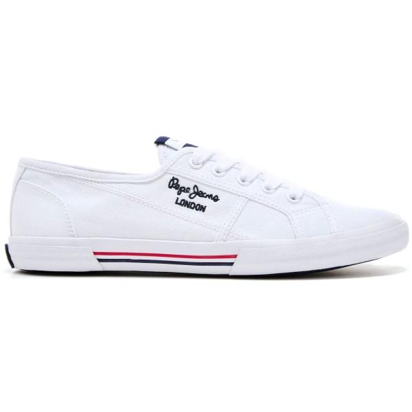 Pepe Jeans Aberlady Ecobass Damen Sneaker Weiß (White)