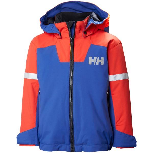 Helly Hansen K Legend Ins Jacket Kinder Skijacke olympian blue