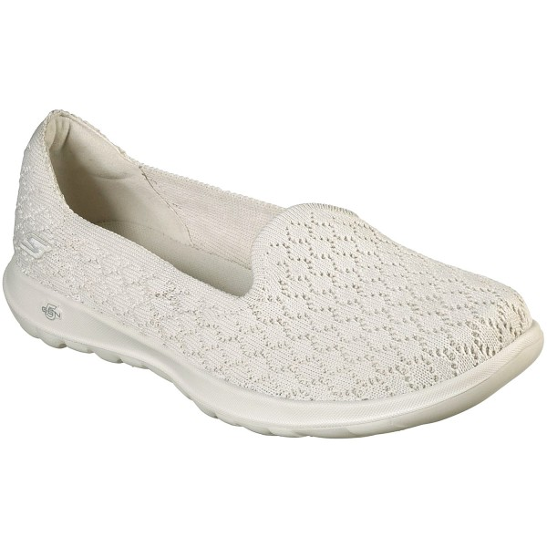 mareado Reafirmar frase  Skechers GOwalk Lite Daisy Women Walking Slip-on natural | Brands ...