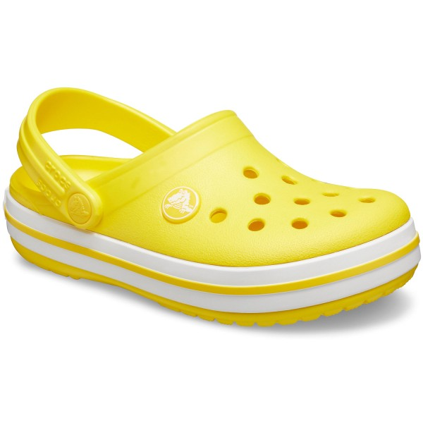 Crocs Crocband Kids Kinder Clogs gelb (lemon)